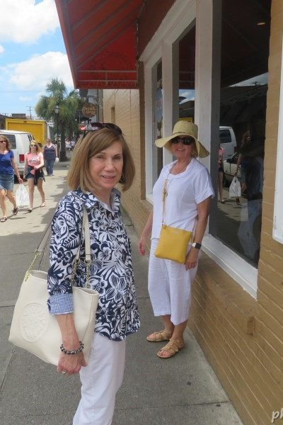 Patricia L Christian Visits Charleston